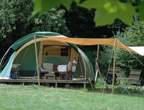 Twaalf heerlijke dagen in deze fijne ruime tent!
